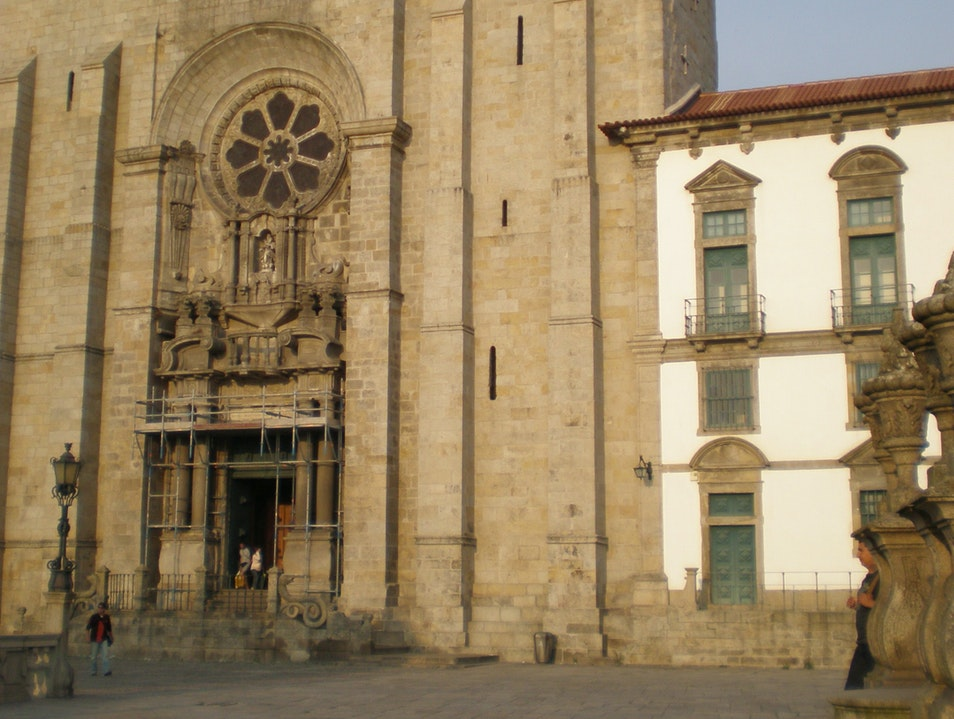 The Cathedral of Oporto (The Se) Sé  Portugal