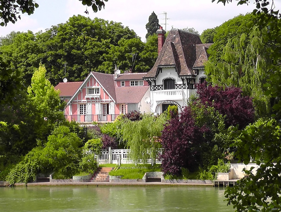 Fairytale Mansion on the Marne River Joinville-le-Pont  France