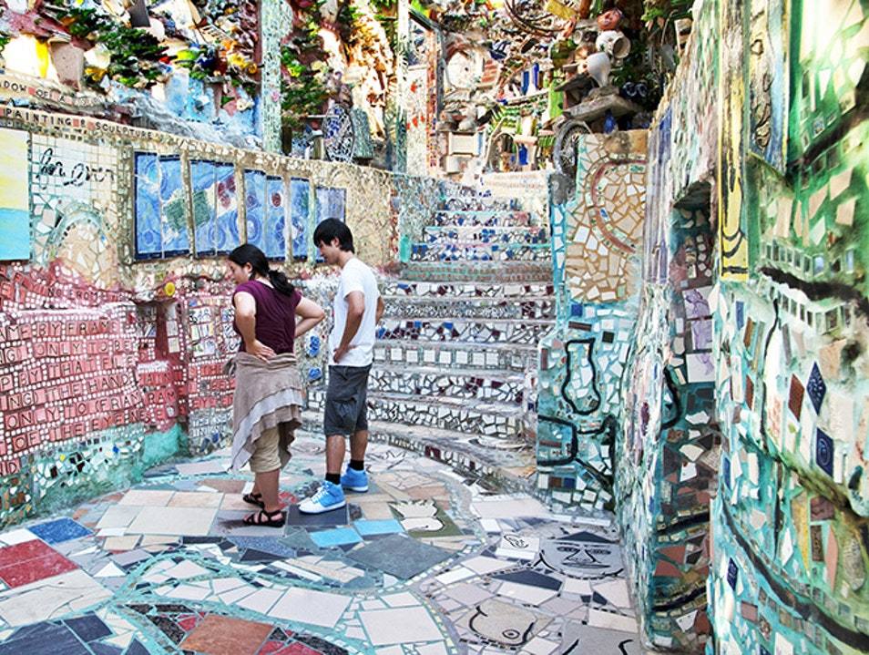 The Magic Gardens Philadelphia United States Pennsylvania Afar