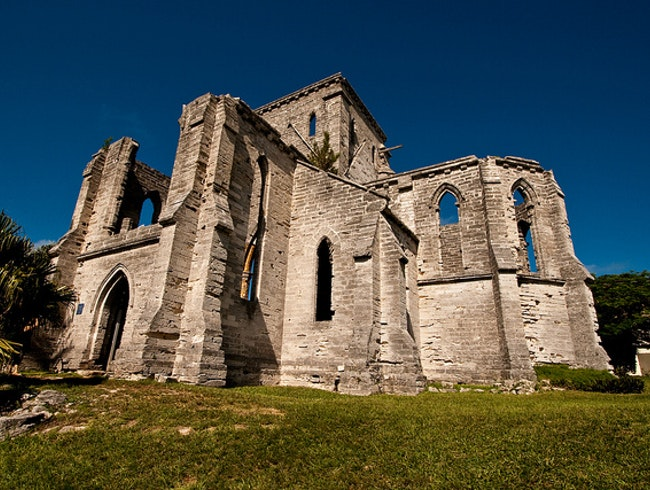 Withstanding the Test of Time at Bermuda's Unfinished Church