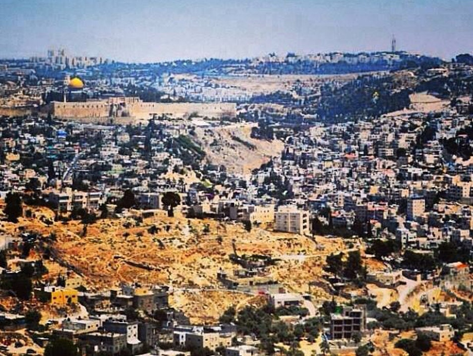 The View Of Jerusalem    Earth
