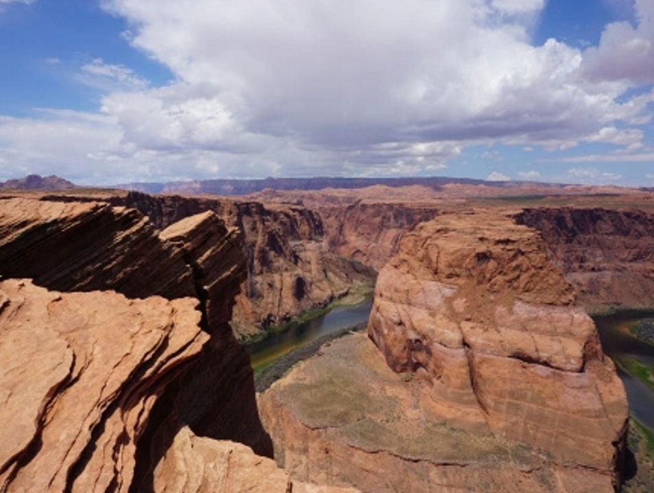 Visiting Horseshoe Bend Page Arizona United States