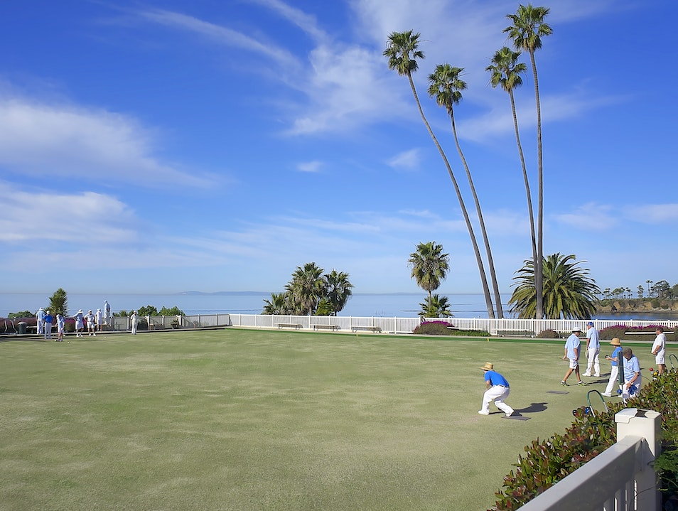 Lawn Bowling Laguna Beach California United States