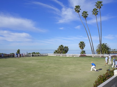 Laguna Beach Lawn Bowling Club Laguna Beach California United States