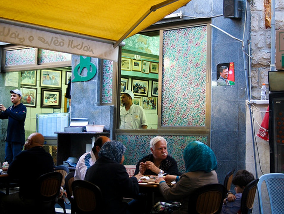 Munch on Fuul and Falafel at Hashem