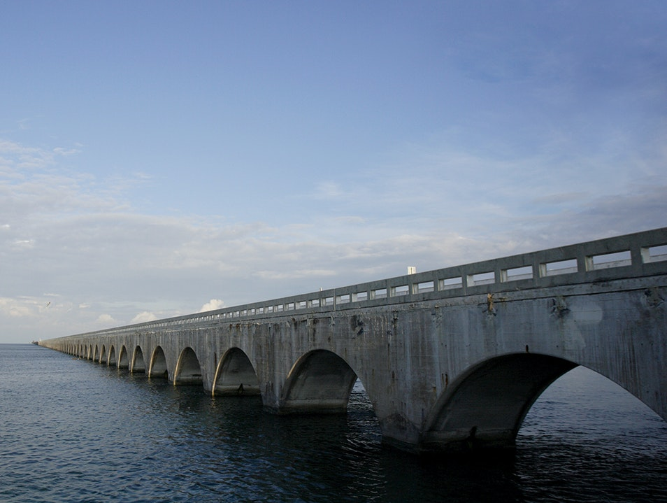 Old Seven Mile Bridge  Big Pine Key Florida United States
