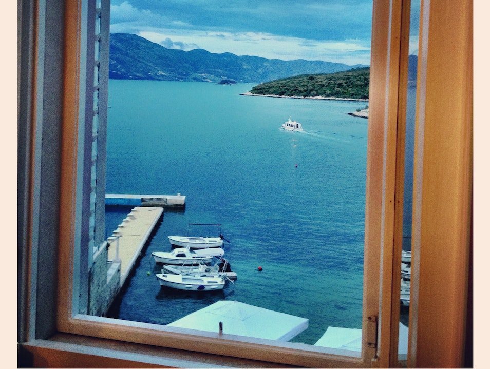 Get a room with a view at Hotel Korsal in Korcula Žrnovo  Croatia