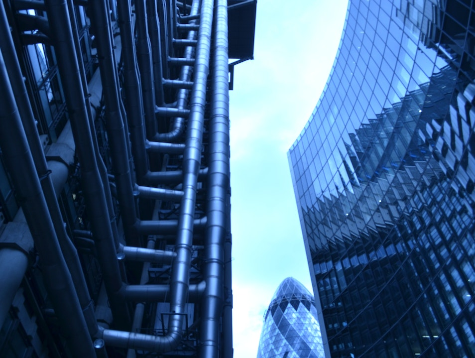 Marvel at old-meets-new architecture London  United Kingdom