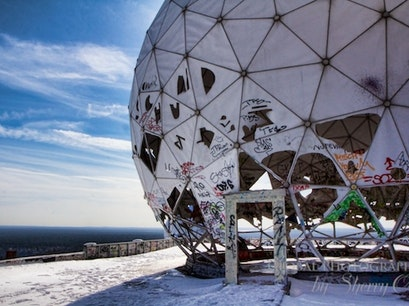 Teufelsberg Spy Station Berlin  Germany