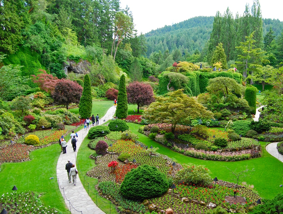 Butchart Gardens Brentwood Bay  Canada