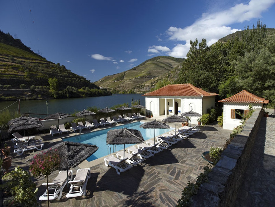 Douro Valley's best river front hotel Pinhão  Portugal