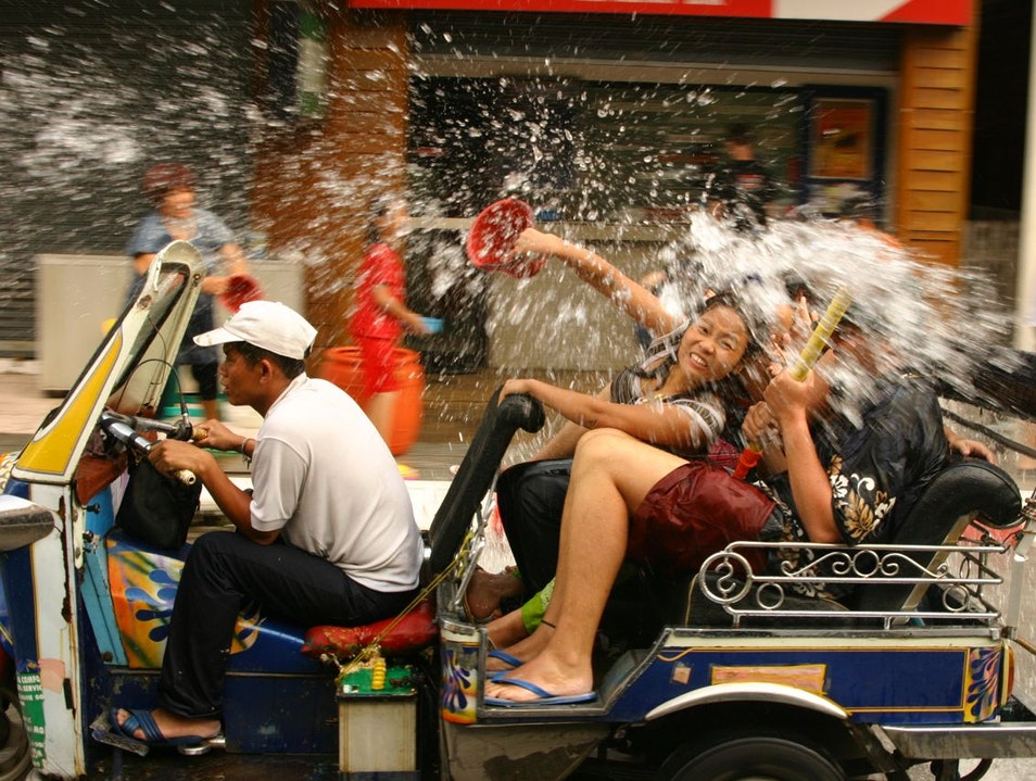 Make a Splash at Songkran  Bangkok  Thailand