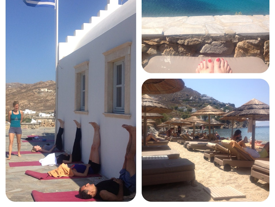Escape to paradise with Yoga-Escapes.com! Ano Mera  Greece