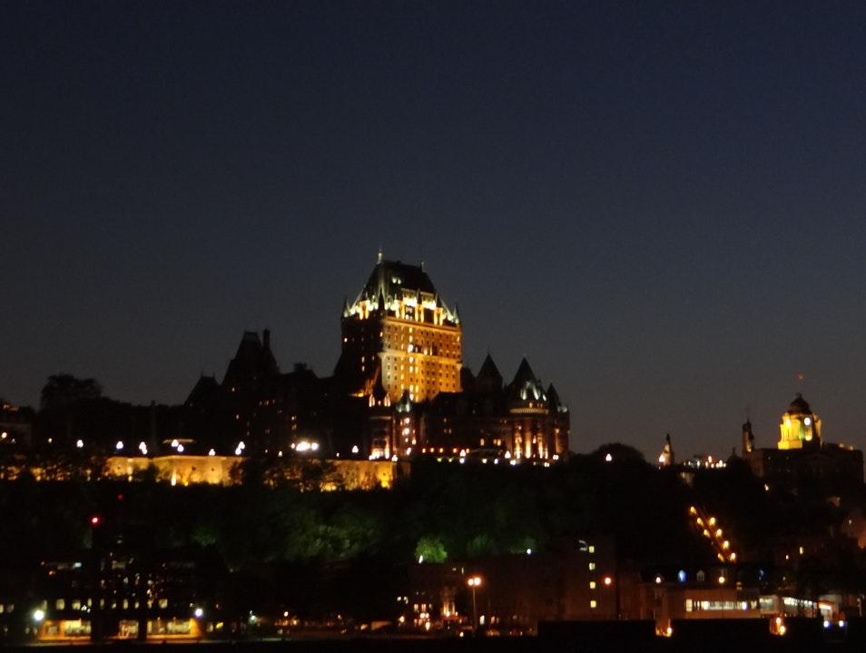 The Best View of Old Québec City Quebec  Canada