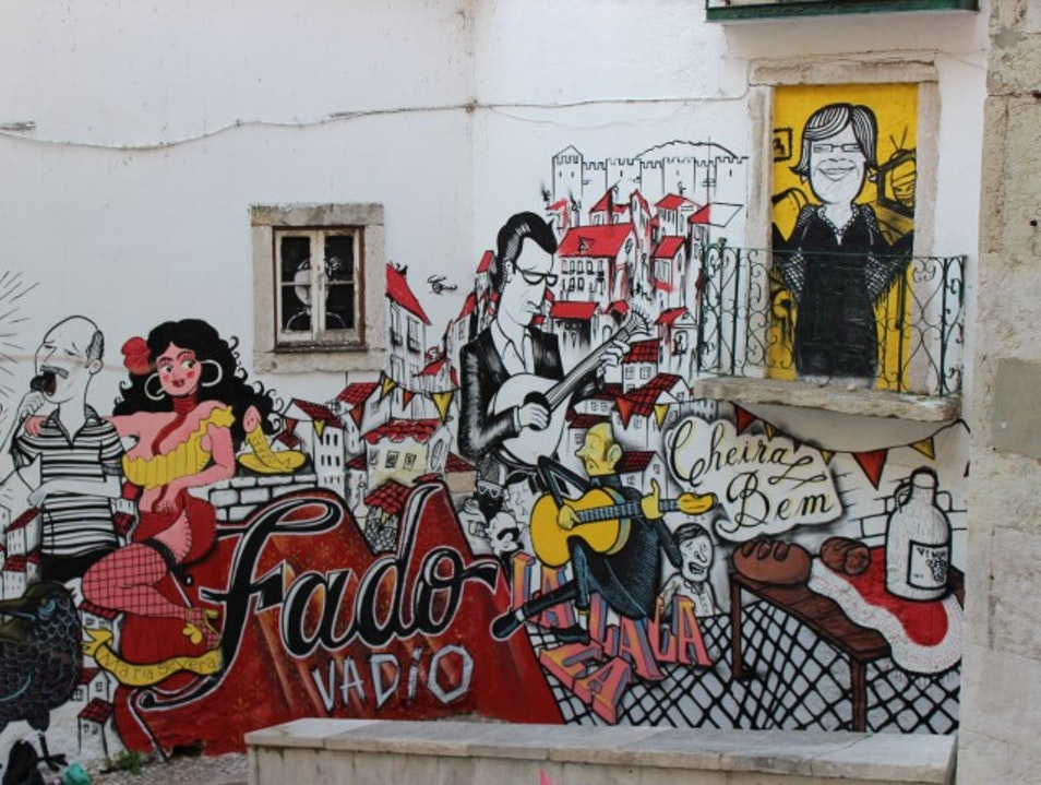 Get lost in the narrow hilly back streets of Lisbon's hills