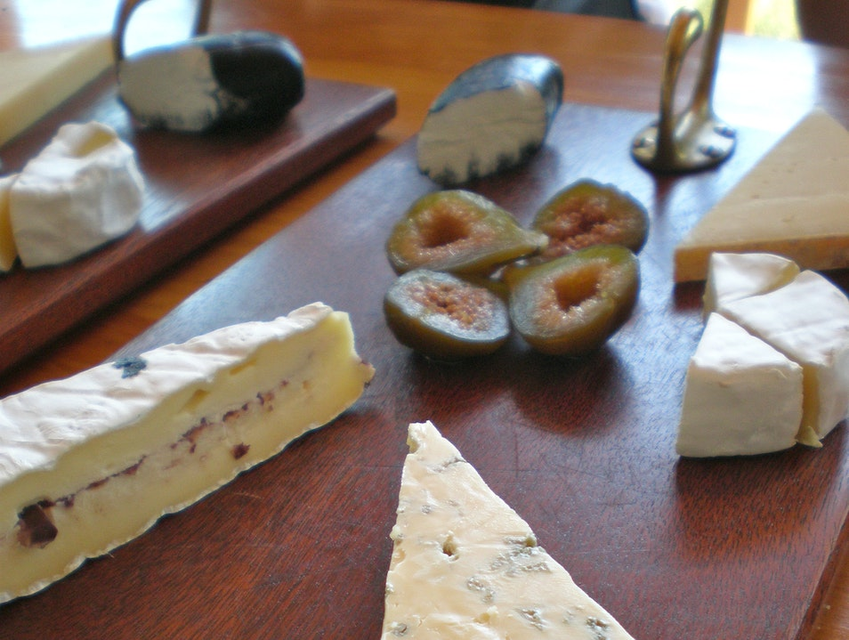 Wine (but mostly Cheese) at Fairview Estate