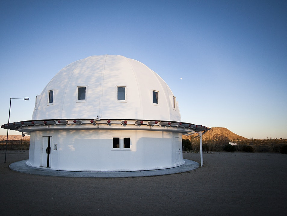 Adult Naptime & Alien Encounters at the Integratron