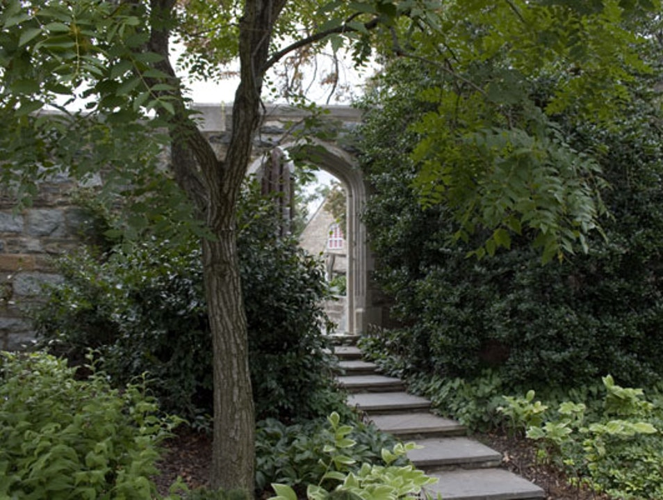 The Bishop's Garden at the Washington National Cathedral