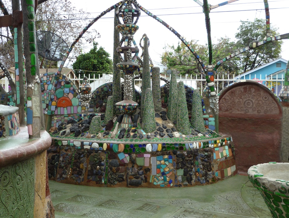 Watts Towers - An Amazing Assemblage of Iron and Mosaics into a Folk Art Sculpture of Epic Proportions