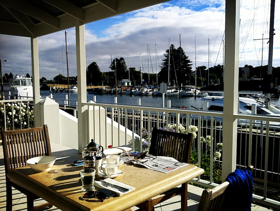 Boutique Hotel Perfection on the Water in Port Fairy