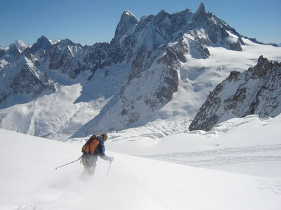 The Haute Route  Chamonix-Mont-Blanc  France