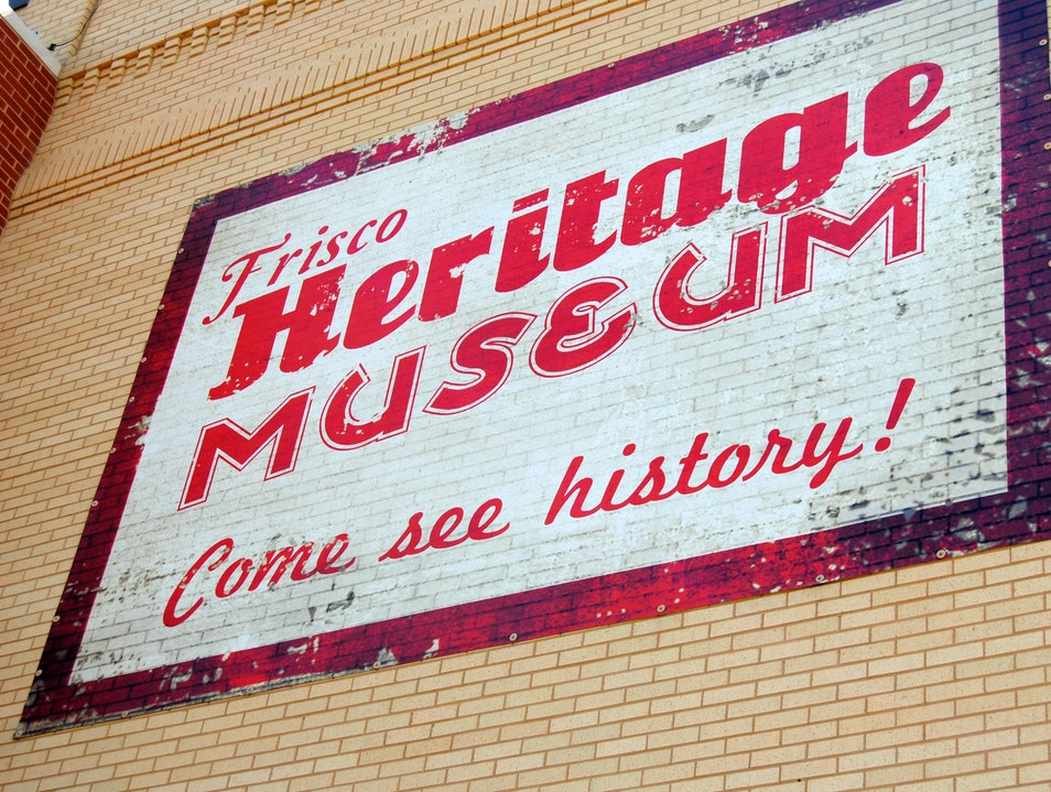 Come See the History of Frisco
