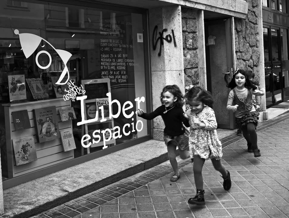Liber Espacio: Literary Fun for the Family Madrid  Spain