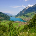 Lake Lungern Lungern  Switzerland