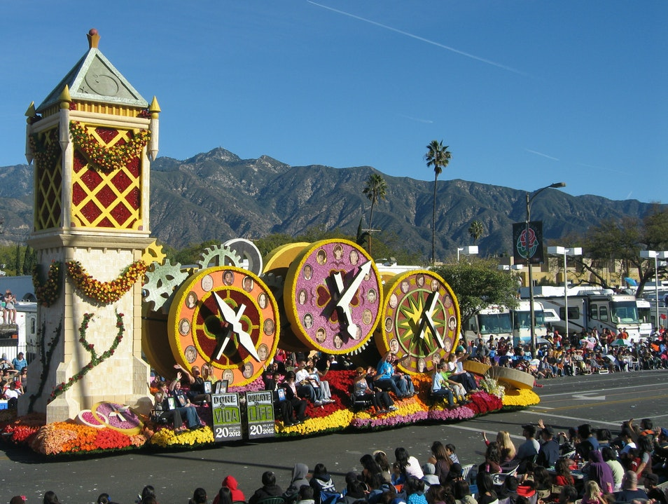 Pasadena's Rose Parade Pasadena California United States