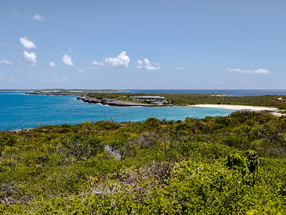 Hiking at Windward Point   Anguilla