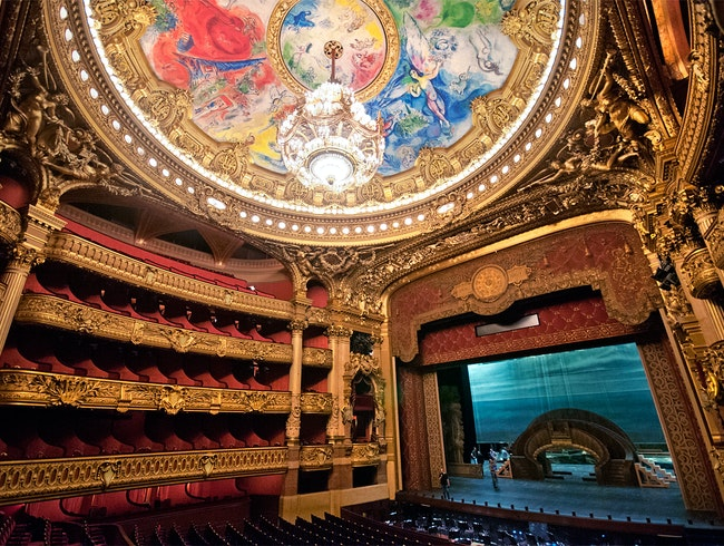 The Magnificent Opera House of Paris