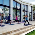 Morning Yoga at Encato Beach Club Dorado  Puerto Rico