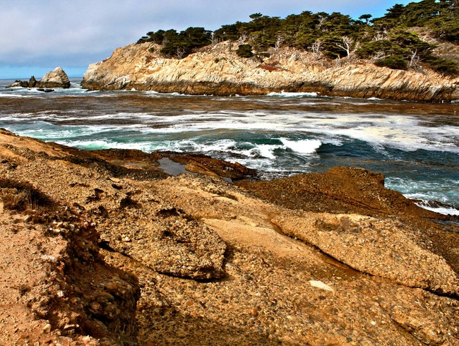 Stroll the rocky coast of Point Lobos State Reserve