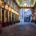 Leadenhall Market London  United Kingdom