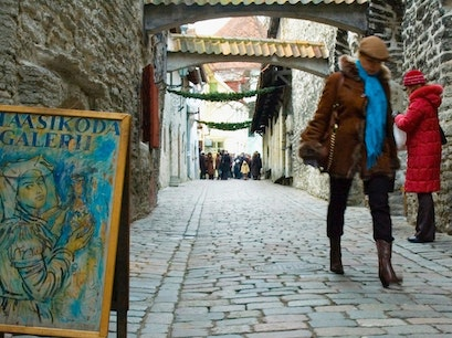 Catherine's Passage Tallinn  Estonia