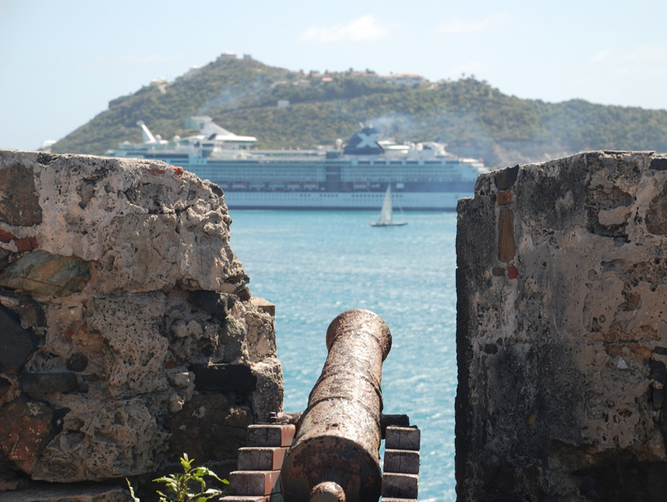 Going Back in Time at Fort Amsterdam  Little Bay  Sint Maarten