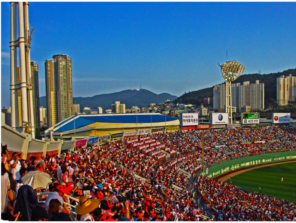 Enjoy America's Pastime in South Korea Busan  South Korea