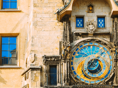 Astronomical Clock Prague  Czechia