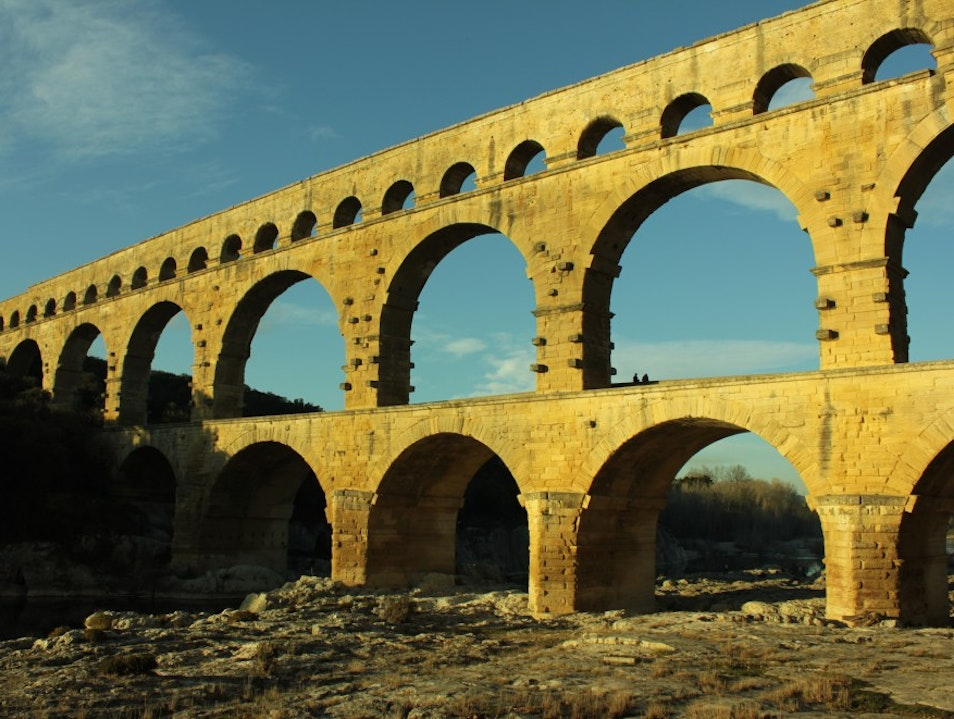Pont Du Gard – the highlight of Languedoc-Roussillon Vers-Pont-du-Gard  France