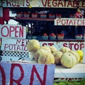 Fruit Stand Cape Charles Virginia United States