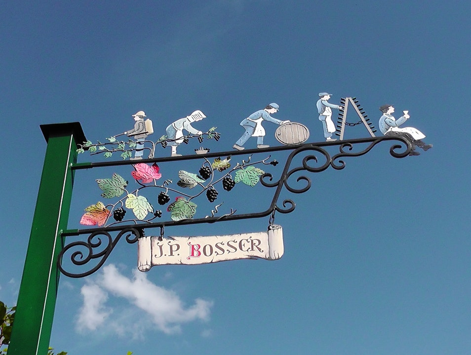 The cute, quirky signs of Hautvillers in Champagne