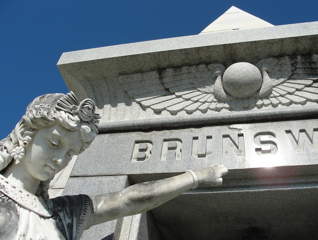 The unique tombs of Metairie Cemetery
