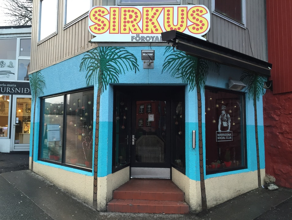 Run Away to Sirkus in the Faroe Islands Tórshavn  Faroe Islands
