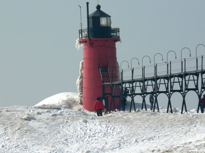 South Haven Lighthouse South Haven Michigan United States