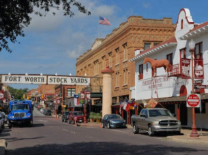 The Stockyards Fort Worth Texas United States