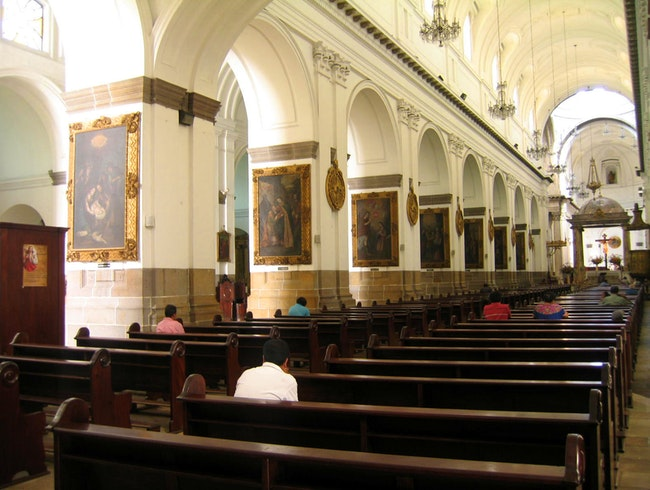 The Cathedral of Guatemala City
