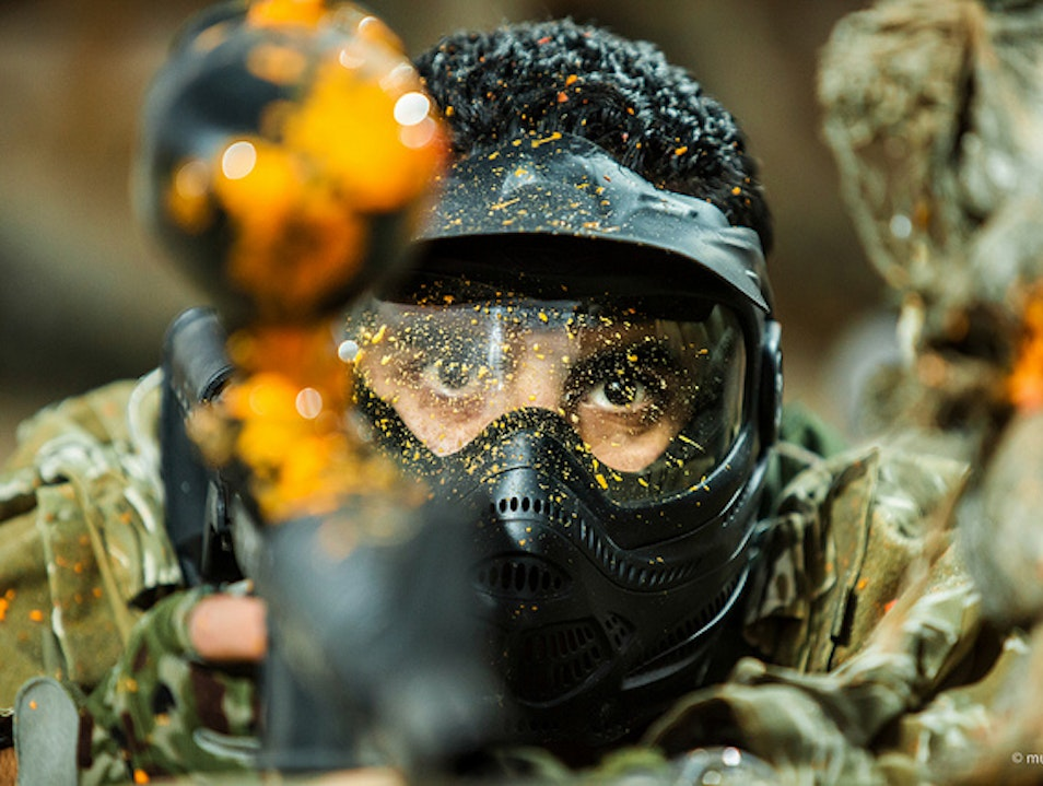 Test Your Sniper Skills at Paintball Romulus Michigan United States