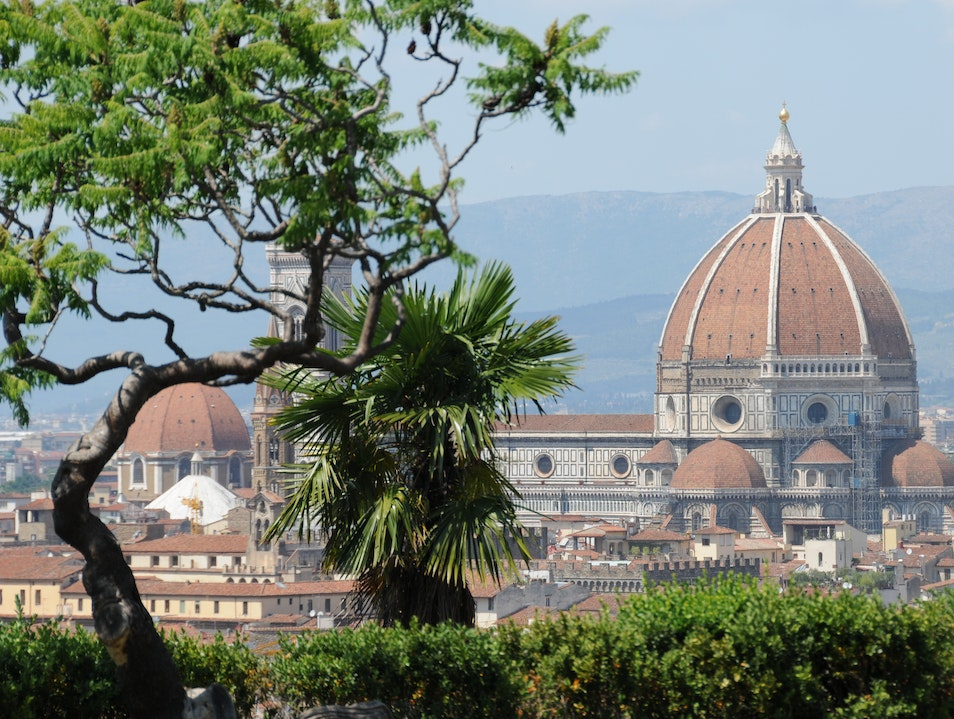 Florence From Above Florence  Italy