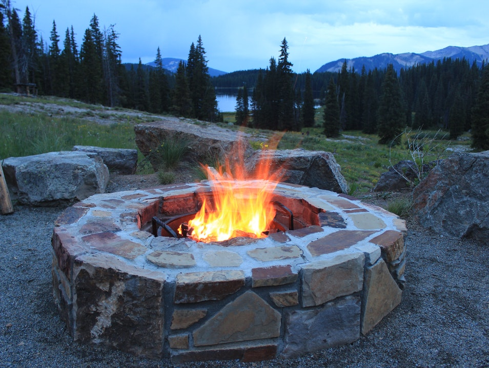 Enjoy a Warm Fire Under the Stars in Crested Butte, CO Crested Butte Colorado United States