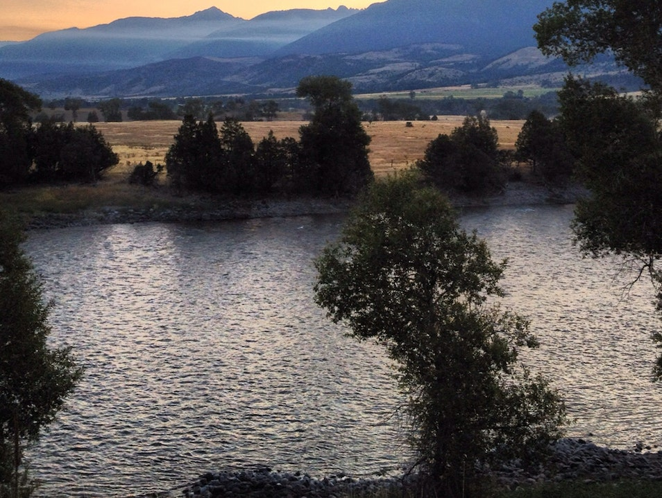 Fly-Fishing and Big Sky Views Galore Livingston Montana United States
